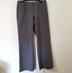 Rafaella Petite Tic Weave Wide Leg Dress Pants